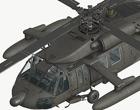 3D asset UH60 Fuel tanks