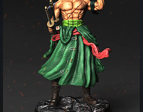 Roronoa Zoro - One Piece for 3d print model