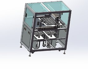 3D Loading and unloading of tray machine