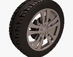 3D asset Nissan Juke Wheel