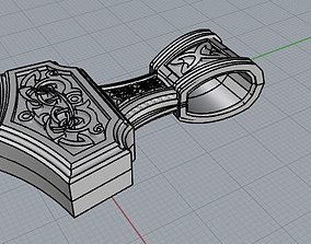 Tor Hammer 3D printable model