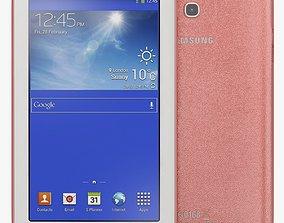 3D Samsung Galaxy Tab 3 Lite 7 0 3G Pink