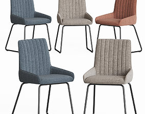 Moseley Upholstered Dining Chair 3D model