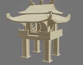 3D printable model Khue Van pavilion-Temple of 2