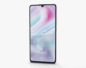 3D model Xiaomi Mi Note 10 Glacier White