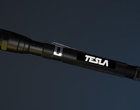 flashlight 3D model blender