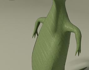 3D model Bold gavial