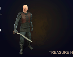 Treasure hunter 3D model