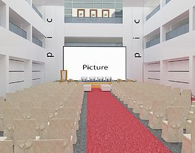 3D Srage and reception hall