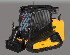 3D model JCB Skid Steer Loader PBR