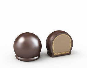 Dark Bon Chocolate 3D model
