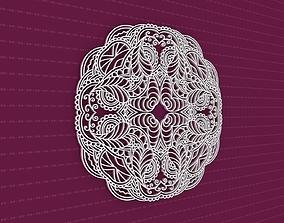 Mandala 3D ornament