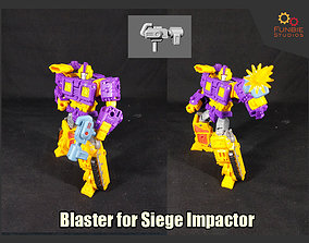 Blaster for Transformers Siege 3D print model