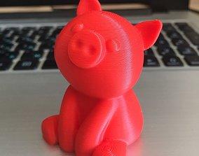Pig figure 3D print model