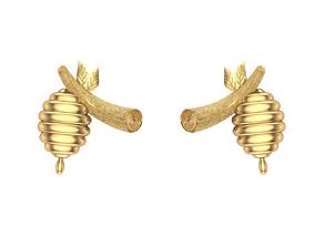Honey earring 3D model