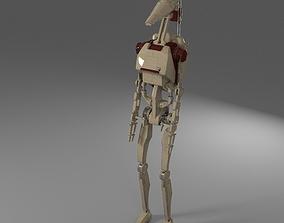 Star Wars Battle Droid 3D