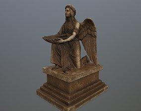 Angel Statue old 3D model realtime