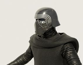 Kylo Ren - Star Wars The Force Awaken 3D Model rigged