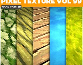 Pixel Vol 99 - Game PBR Textures 3D model