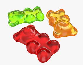 Gummy bear 3D