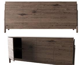 3D model Ash Set-Sideboard