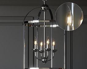 3D Ballard Designs Breakers 4-Light Lantern