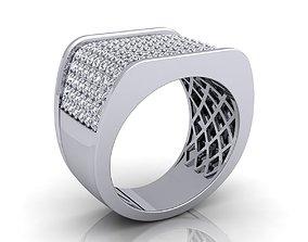 Big Fancy mans Ring 3D printable model