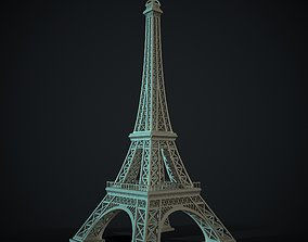 Eiffel Tower 3D model realtime
