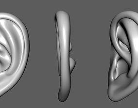 Ear Lowpoly Model low-poly