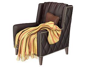 Almada Chair 4802L 3D model