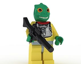 LEGO Minfigure Bossk 3D