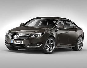3D Opel Insignia 2014