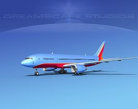 Boeing 787-8 Southwest Airlines 3D