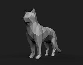3D print model Cat Low Poly