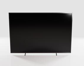 3D Simple Flat Screen TV