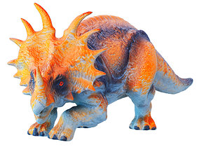 Triceratops Toy 01 3D model