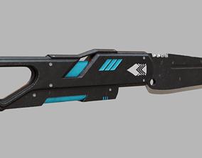 3D model Futuristic Knife