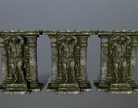 3D asset realtime statue 2