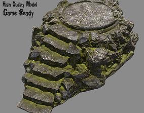 Temple 3D model realtime
