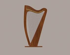 3D Harp Model