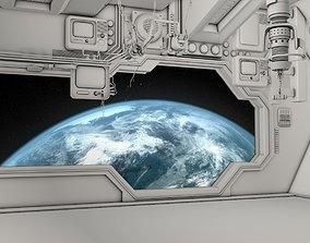 3D model Space Interior