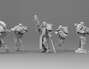 Knight of Roma - Veterans with Combi 3D printable model 1