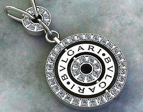 style 3D printable model pendant