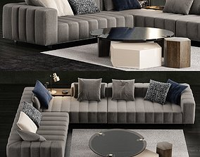 Minotti Freeman Tailor Sofa 2 3D model