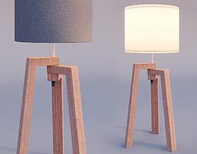 3D model Tripod table lamp