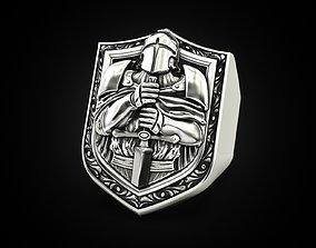 Knight Ring 3D printable model