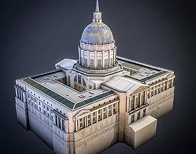 San Francisco City Hall 3D asset