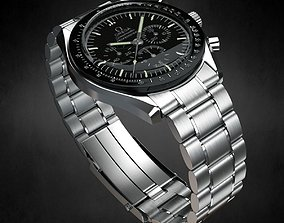 3D Omega Speedmaster Watch
