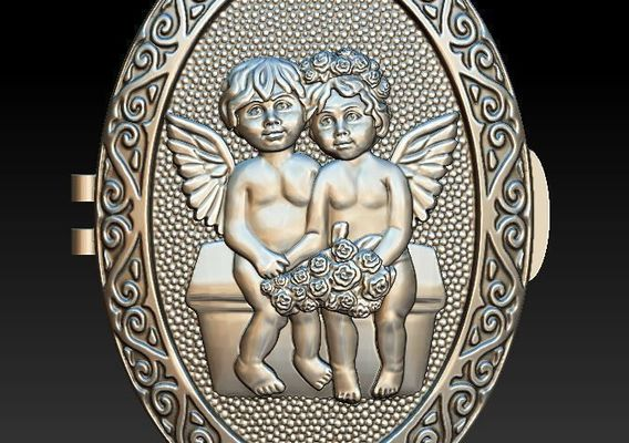 Angels for pendant