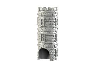 dicetower 3D printable model